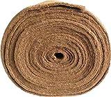 Unkrautschutzmatte aus Kokosfaser, 0,50 m x 10,00 m, ca. 7 mm dick, 5,00 m², (EUR 7,50/m²),...