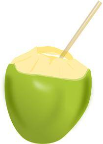 kokosnusswasser und kokoswasser